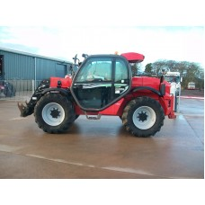 "2016 Manitou MLT 629 Turbo 24"" wheels 4700 hours DMFSN1313"
